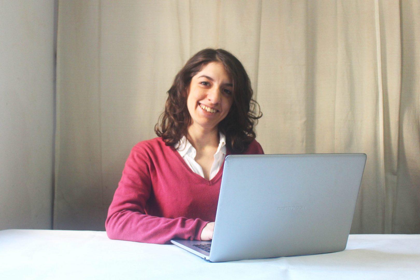 Belén Perotti, de pasante a coordinadora de proyectos en Webdoor