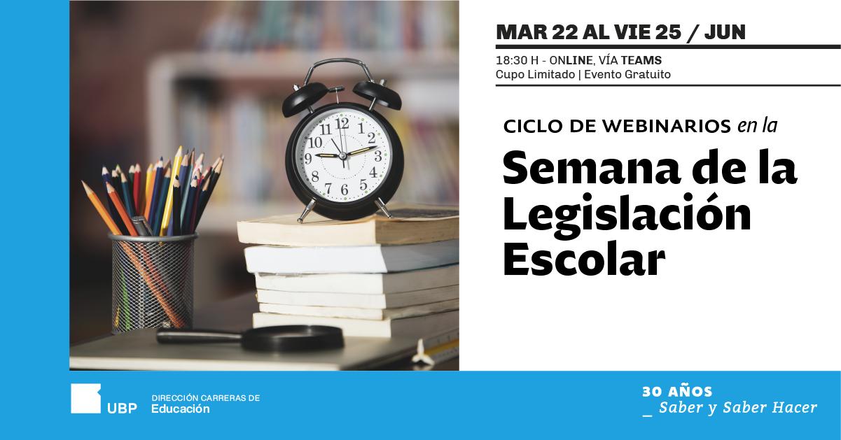 Semana de la Legislación Escolar
