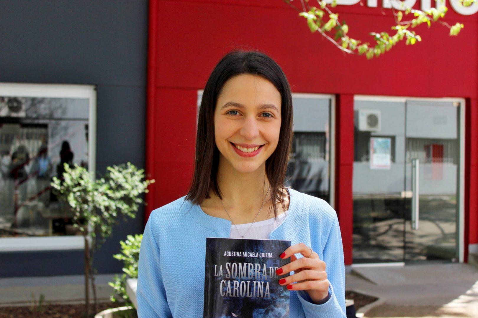 Agustina Chiera, egresada UBP y autora de su primera novela