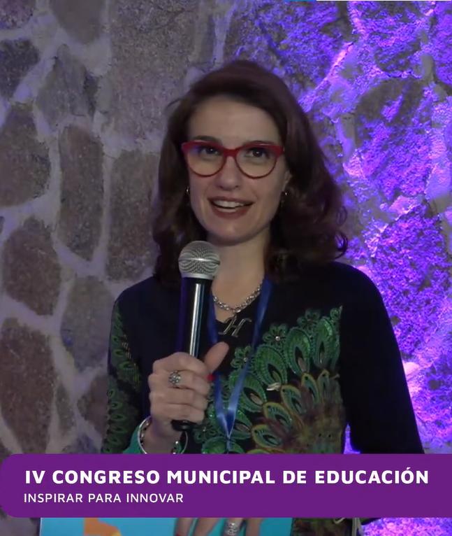 María Helena Saddi en el IV Congreso Municipal de Educación